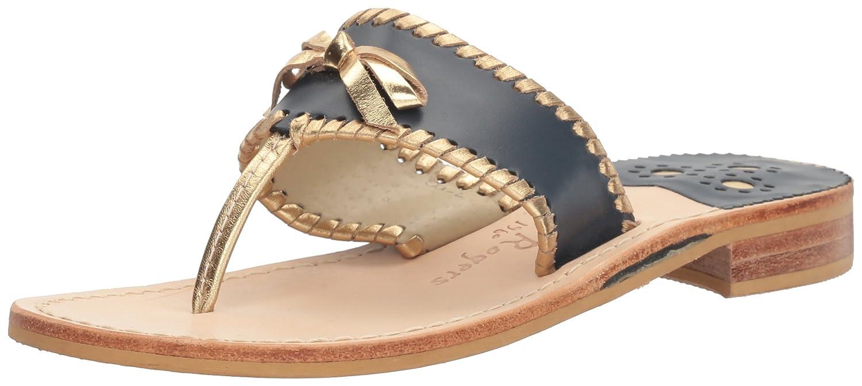 Jack Rogers Women's Adeline Dress Sandal B01LX1AN7R 8.5 B(M) US|Midnight/Gold
