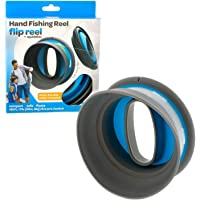 Squiddies Flip Reel, Cuban Yoyo Hand Fishing Reel with Line and Tackle - Fun for Kids and Adults