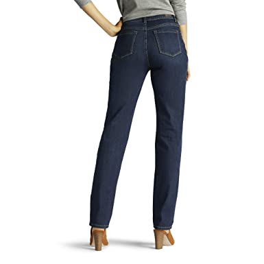 Amazon.com: LEE Monroe pantalones vaqueros de pierna recta ...
