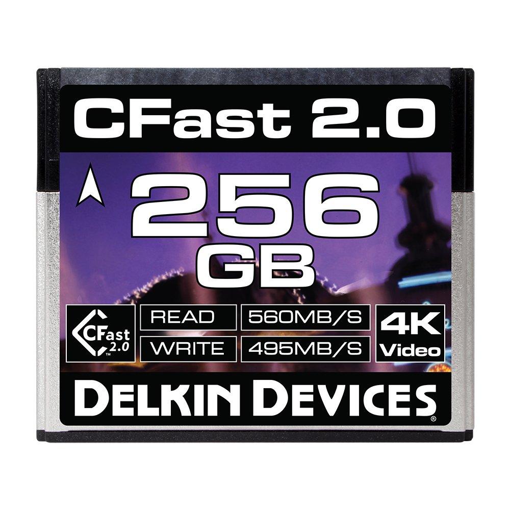 Delkin 256GB Cinema CFast 2.0 Memory Card (DDCFST560256) by Delkin