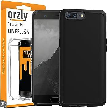 Orzly Funda para el OnePlus 5, FlexiCase OnePlus 5 – Carcasa ...