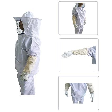 Amazon.com: XGUNION Traje profesional de apicultura ...