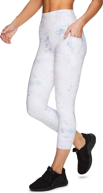 RBX Active Womens Capris Leggings Yoga Athletic Workout Cropped Leggings