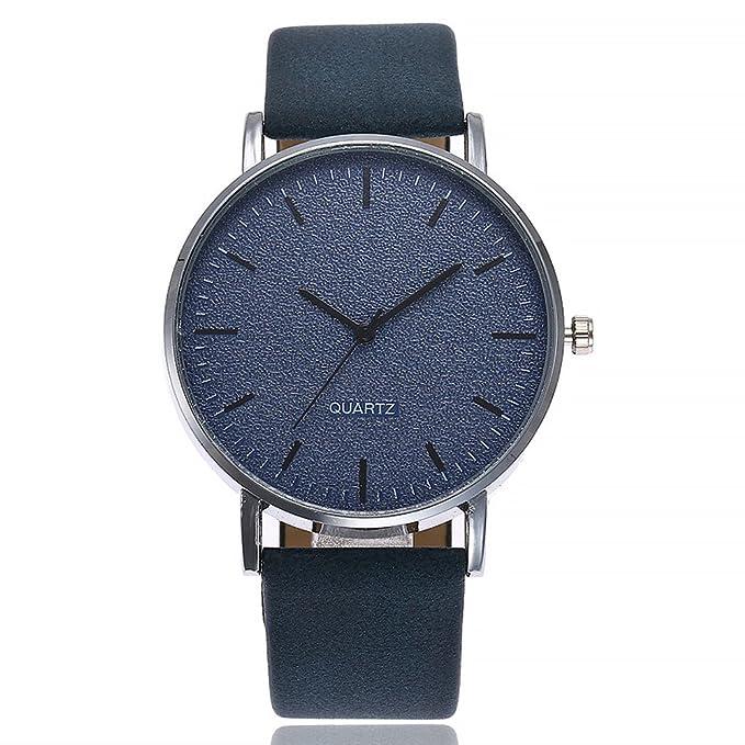 ZODOF Mujer Delgado Relojes con Banda de Cuero Genuino Moda Lujo Diseño Simple Reloj de Pulsera para Mujers Casual Reloj Negro Tono Dorado: Amazon.es: Ropa ...