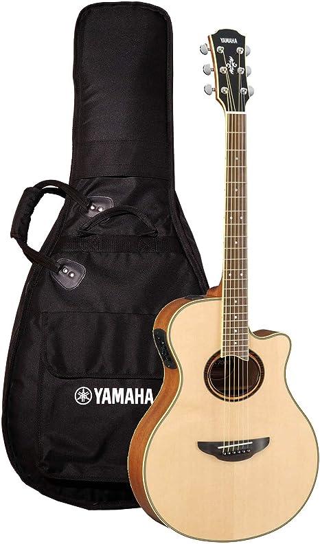 Yamaha - Guitarra electroacústica apx700ii: Amazon.es ...