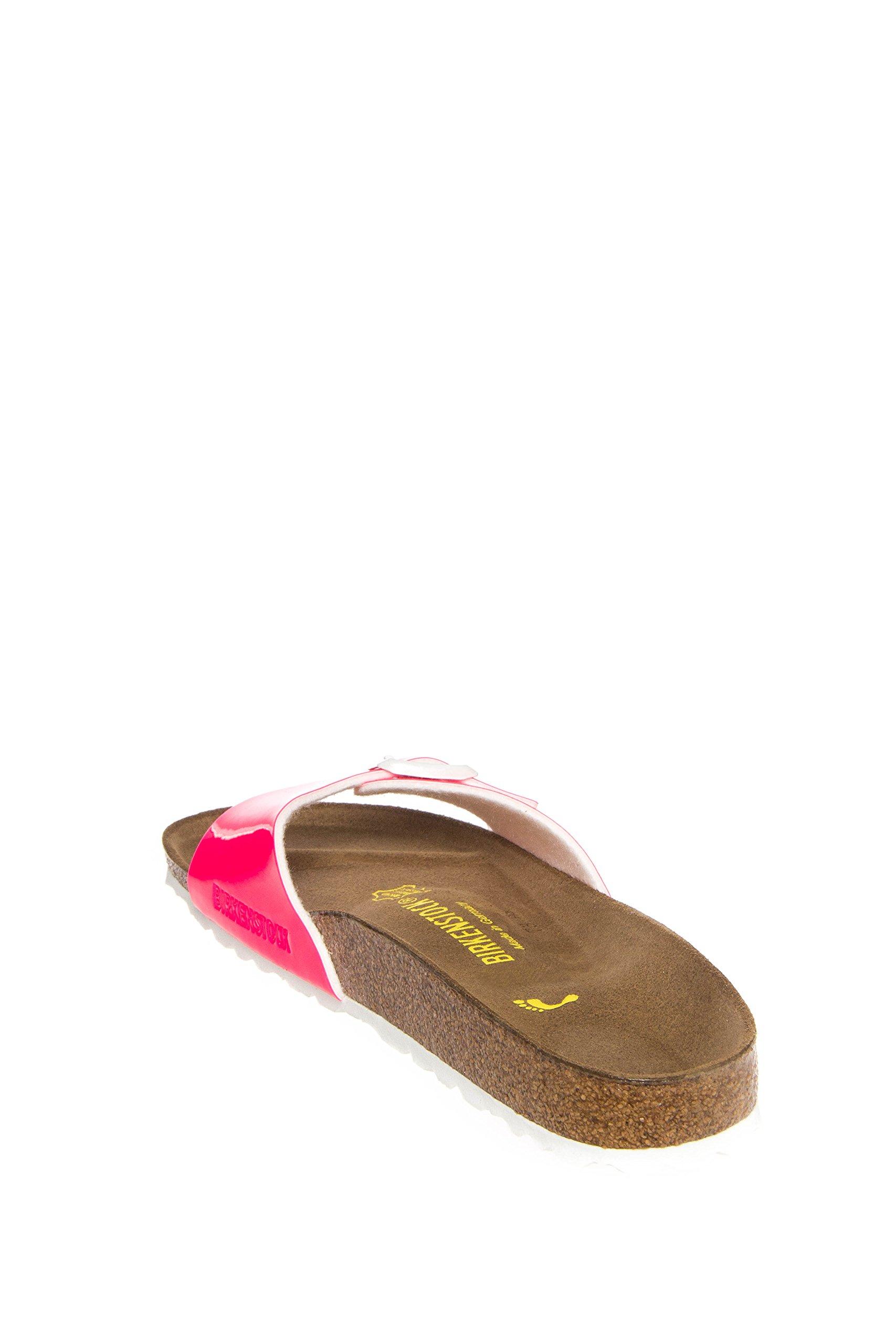137dbda92d982a Galleon - Birkenstock Women s Madrid Neon Pink Patent Birko-Flor 39 N