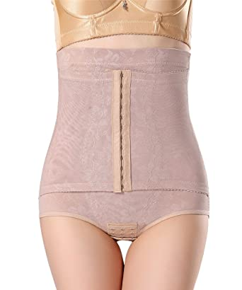 2ed2080034f FUT Women Waist Cincher Girdle Belly Trainer Corset Tummy Control Body  Shapewear at Amazon Women s Clothing store