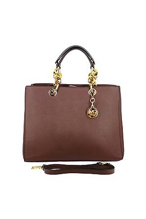 b91ab76bad Sac à main tendance marron - LANGRAND - - TU - Marron  Amazon.fr  Vêtements  et accessoires