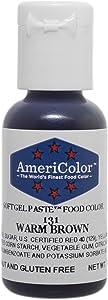 Americolor Soft Gel Paste Food Color.75-Ounce, Warm Brown