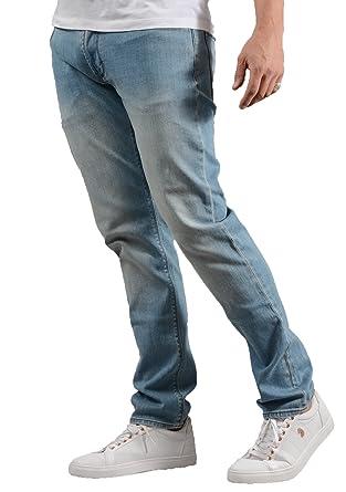 acf9934cfd7c0 Emporio Armani J06 Slim Fit Light Blue Washed Denim Jeans 3Z1J06 1DLRZ   Amazon.co.uk  Clothing