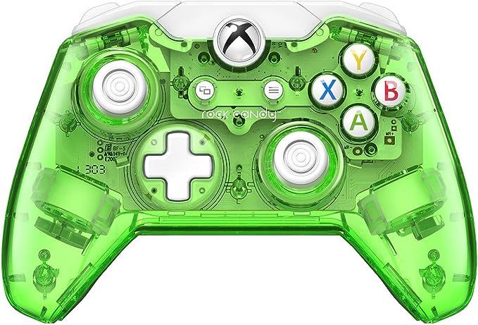 PDP - Mando Rock Candy, Licenciado, Color Verde (Xbox One): Amazon ...