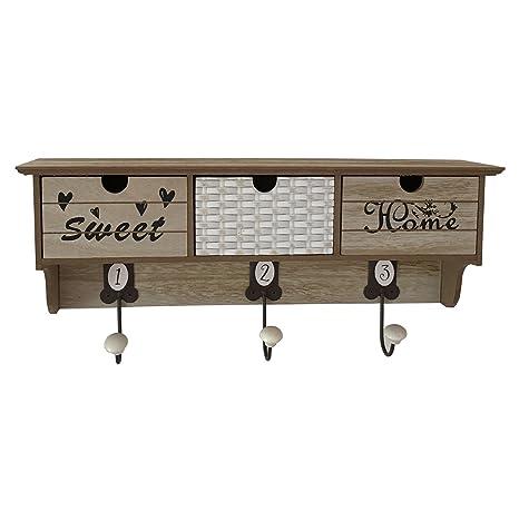 Jodie - Solución de almacenamiento decorativo perchero de ...