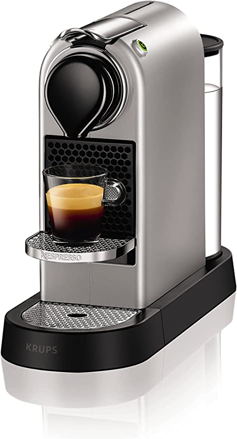 Nespresso XN740B40 Citiz Coffee Machine, 1710 W, Silver by Krups ...