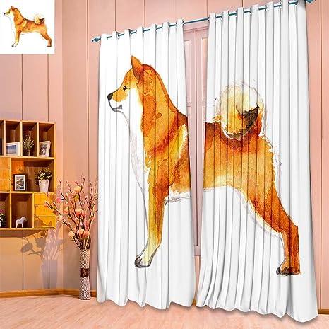 SeptSonne Design - Cortina opaca térmica aislante para habitación de perro
