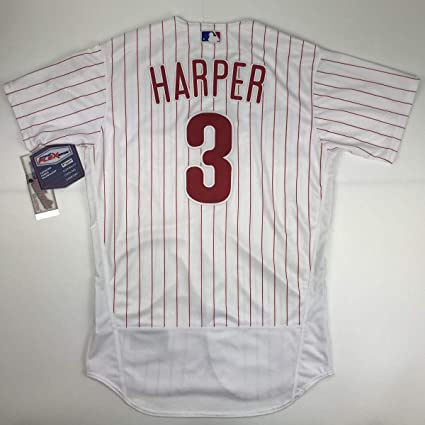 san francisco 0a655 fbf13 Authentic Bryce Harper Pinstripe Size 40 M Medium ...