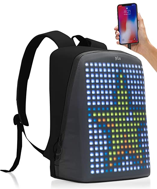Amazon.com: Pix Mochila - Smart Digital Impermeable Mochila ...