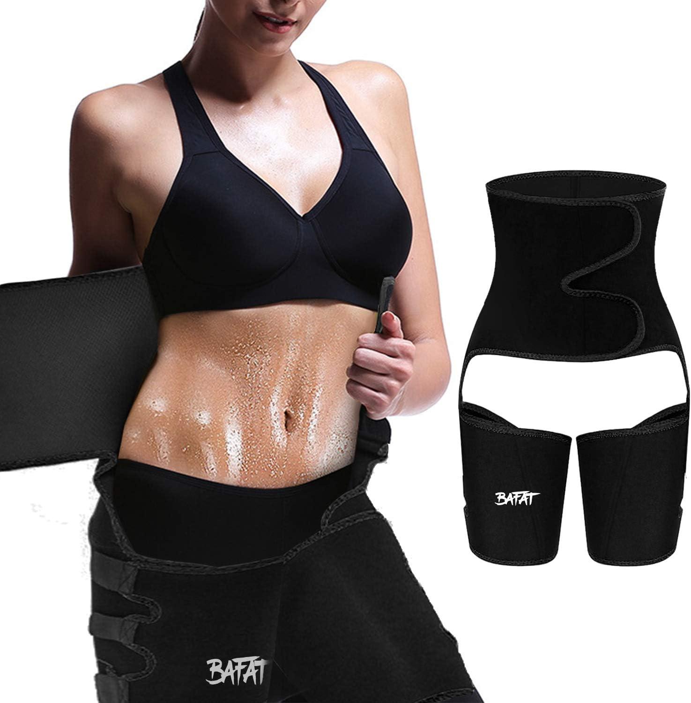 Skatheal Workout Waist Trainer for Women Fitness 3 in 1 Neoprene Butt Lifter Body Belt