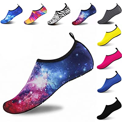 Ulike Water Shoes for Women and Men Outdoor Beach Swimming Aqua Shoes Quick-Dry Barefoot Sock Shoes Surfing Yoga Pool Exercise | Water Shoes