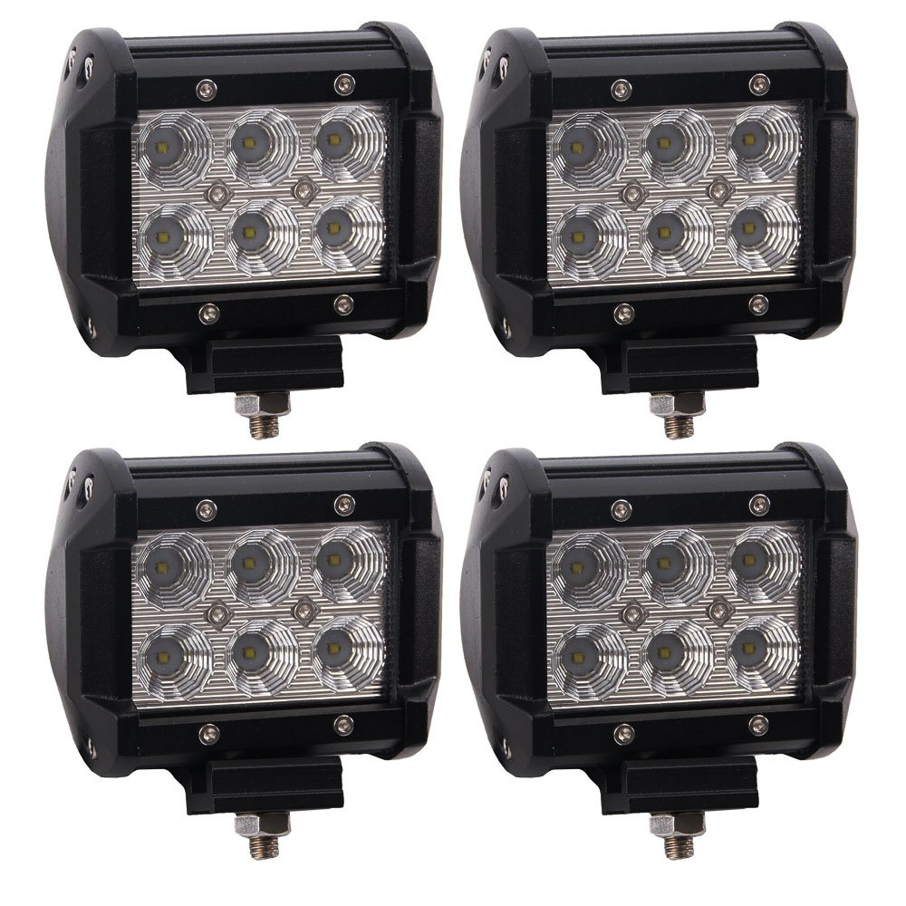 4PCS CREE 4 Inch Led Work Light Bar Pods Cube Off Road ...