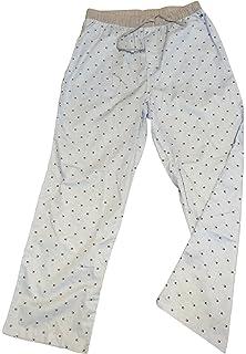 Tommy Hilfiger Mens Poplin Sleep Pant Pajama Blue M