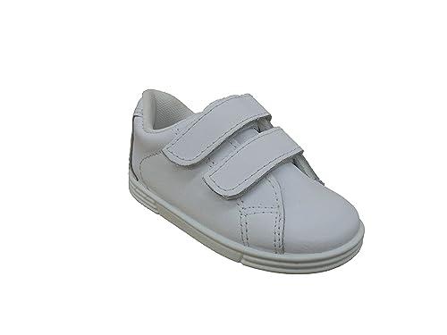 e1384755400 Zapatillas Deportivas Infantiles para Niños y Niñas Todo Piel, Javer  mod.162. Calzado
