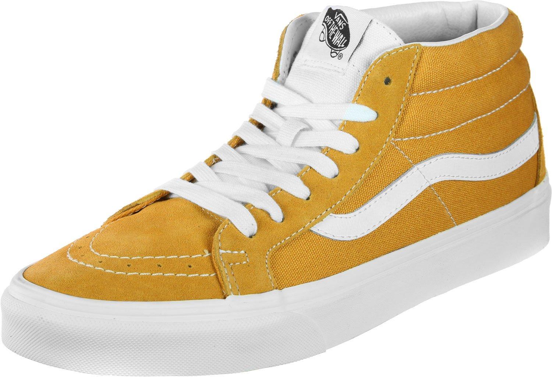 Vans Unisex Authentic Platform Skate Shoe B078Y7BYDC Men 13/Women 14.5|(Retro Sport) Sunflower 7294