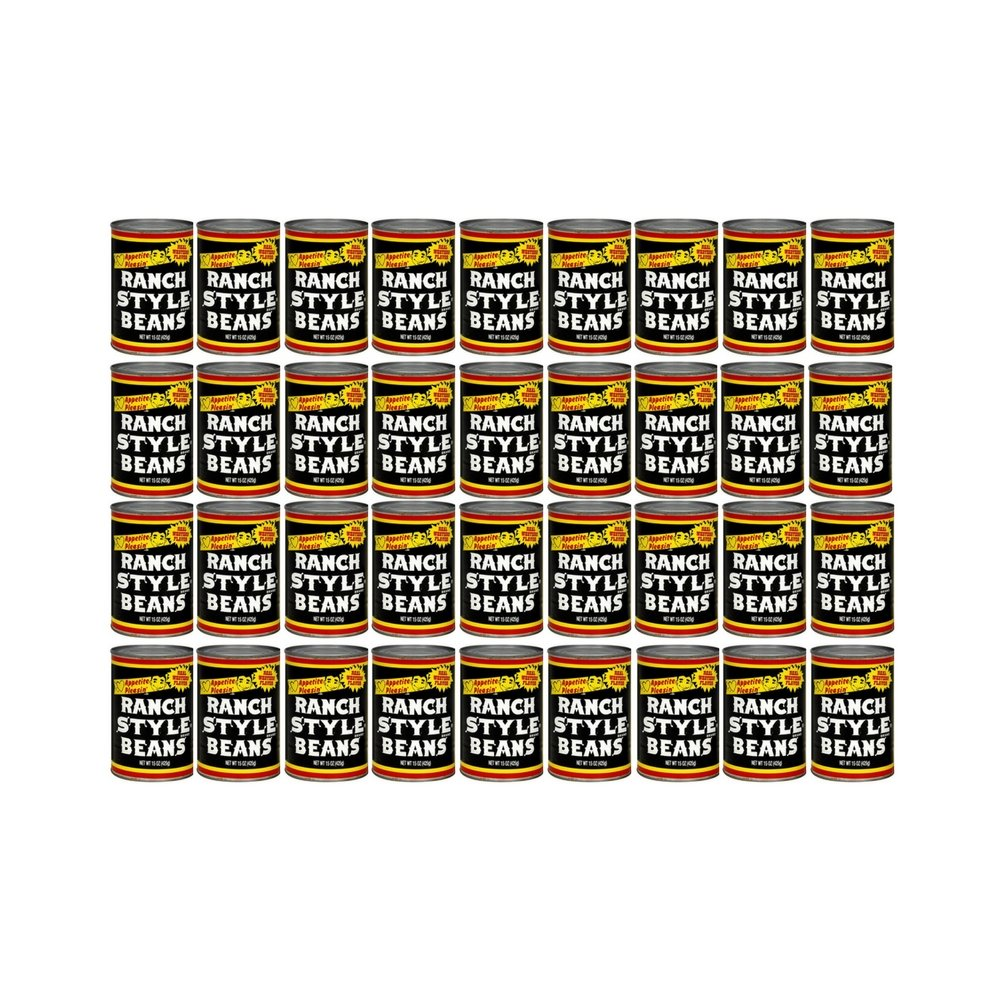 Ranch Style Brand Beans, 15 Ounce (36 cans) by Ranch Style