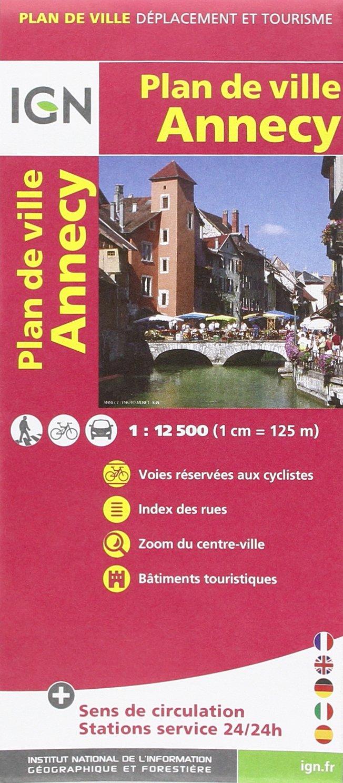72544 PLAN D'ANNECY 1/12.500 Carte – Carte pliée, 2 octobre 2013 IGN 2758531364 Karten / Stadtpläne / Europa Frankreich