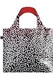 LOQI LQB1-MUKHPL Museum Shopping Bag, Keith Haring, L Capacity