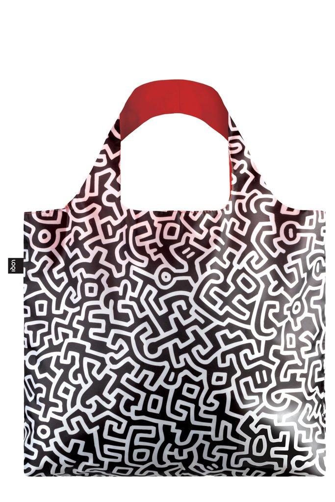 LOQI Museum Keith Haring Untitled Bag Sac de Plage, 50 cm, 20 liters, Multicolore (Multicolour)