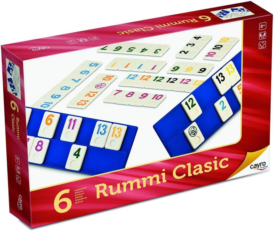 Juguetes Cayro - Rumi, Juego de Mesa, para 6 Jugadores, 35 x 26 x ...