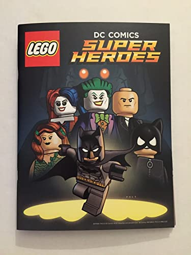 LEGO DC Comics Super Heroes Comic Book with Folded Poster BATMAN SDCC 2016 Joker  Harley Quinn at Amazon s Entertainment Collectibles Store b8671e6697