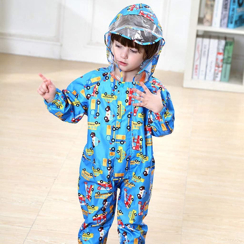 Vine Bambini Pioggia Cappotto Impermeabile Pioggia Poncho Pioggia Giacca Pioggia Protezione