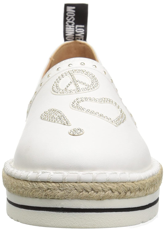 Love 39 Moschino Women's Ja10093g15ic0100 Sneaker B0778YDDJW 39 Love M EU (8 US)|White e91593