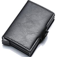 Ultra-thin RFID blocking wallet secure credit card wallet Credit Card Holders
