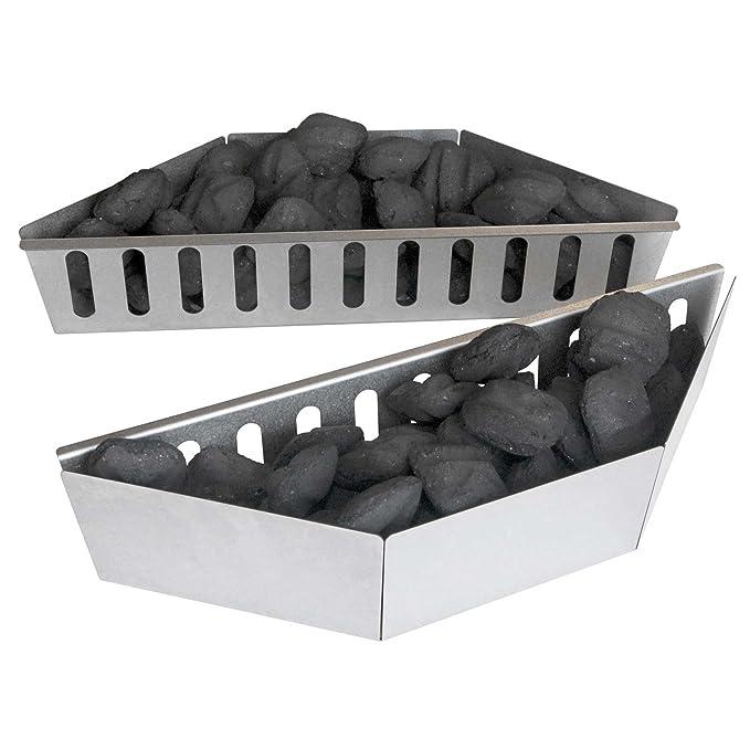 Napoleon Carbón vegetal cesta/Juego De 2: Amazon.es: Jardín