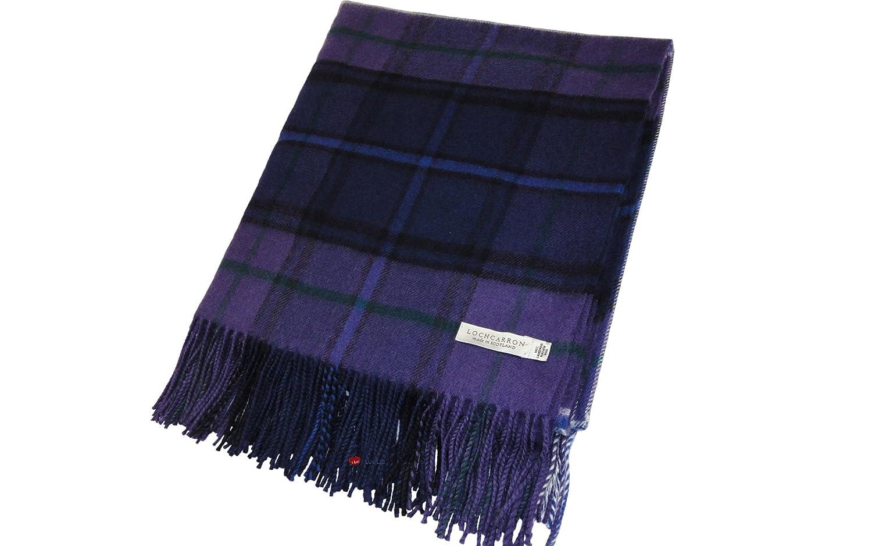 Scotland Forever Modern Tartan Lambswool Blanket 142 X 180cm