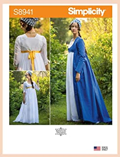 product image for Simplicity Sewing Pattern S8941 R5 Misses' Costume by American Duchess, Size 14-16-18-20-22