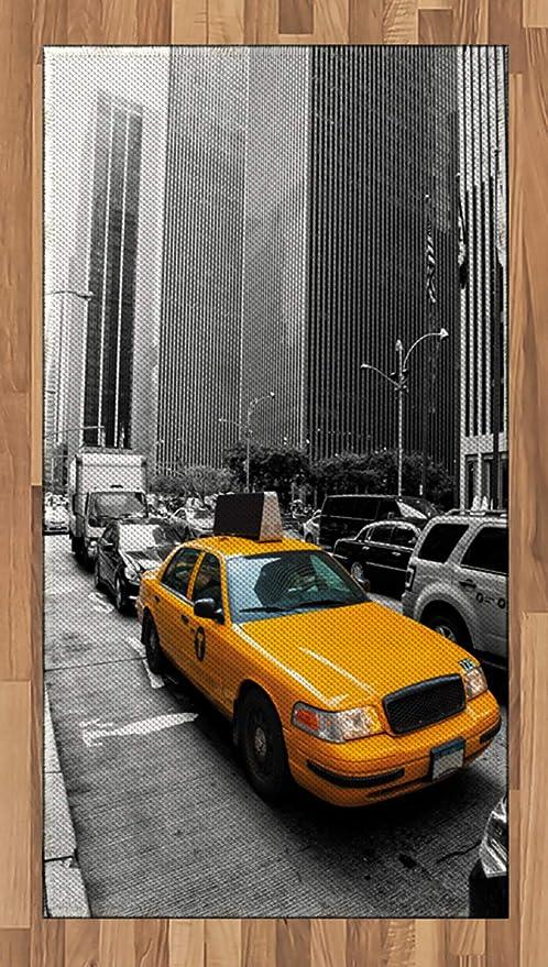 ABAKUHAUS Ciudad Alfombra de Área, Nueva York Manhattan Carretera ...