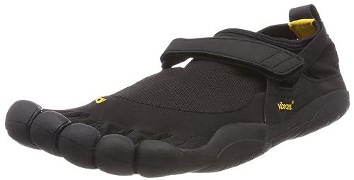 cheap for discount 6b037 92923 Vibram Men s KSO Trail Running Shoe, Black, 40 EU 8-8.5 M