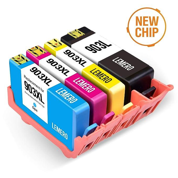 LEMERO Compatible HP 903 903XL Cartuchos de Tinta para HP ...