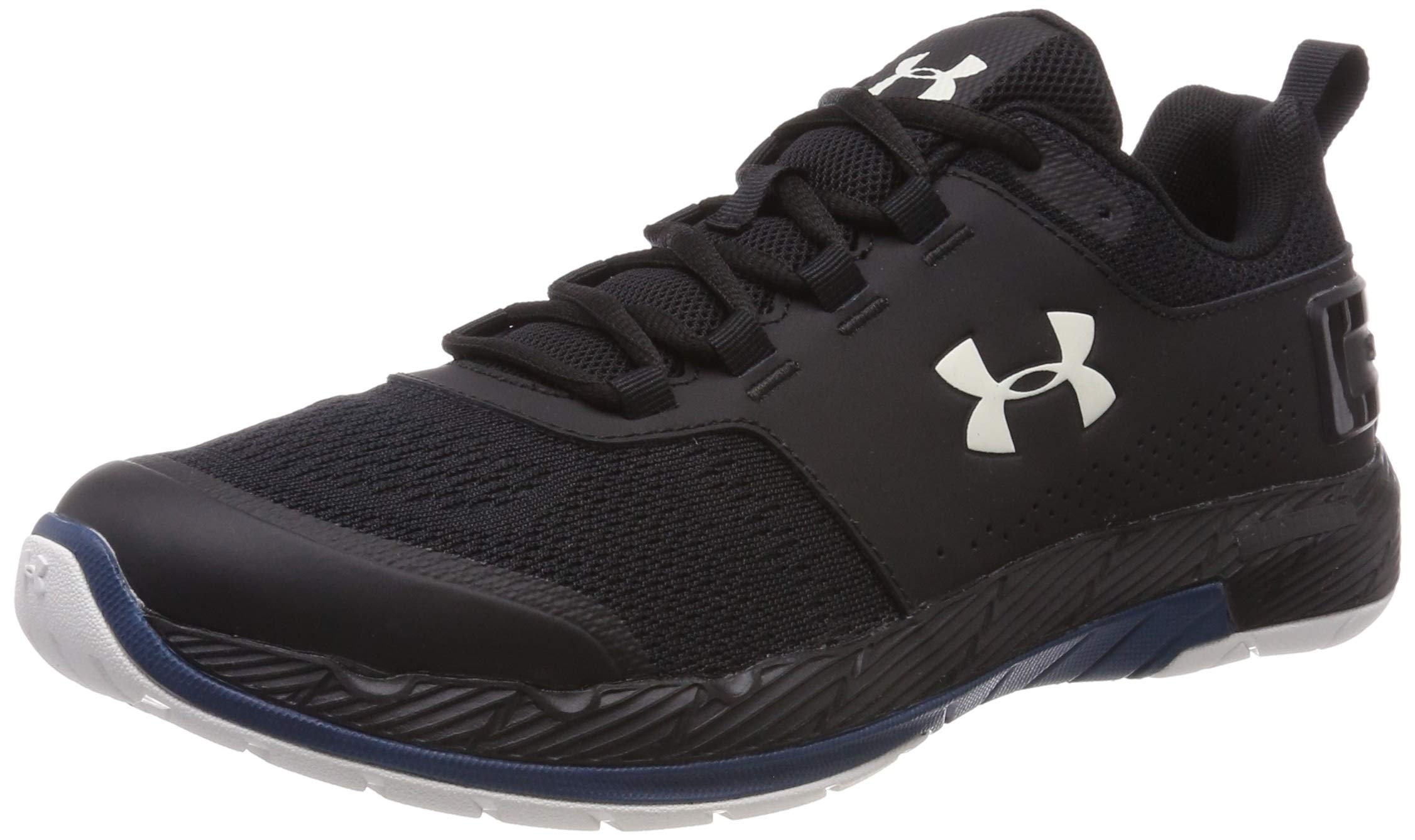 Under Armour Men's Commit TR EX Sneaker, Black (008)/Petrol Blue, 7.5 M US by Under Armour (Image #1)