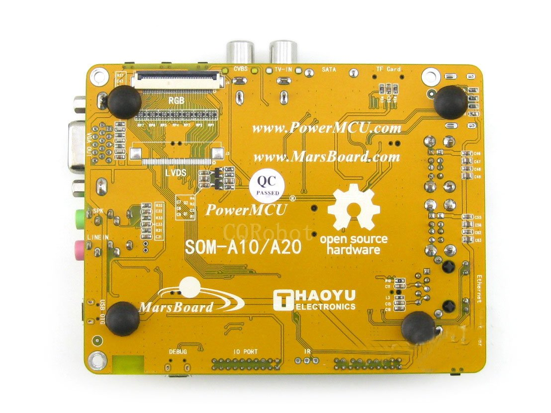 MarsBoard A20- CQRobot, Flexible Designed development board powered by Allwinner A20, Dual core ARM Cortex A7 CPU, Dual core Mali-400 GPU. by CQRobot