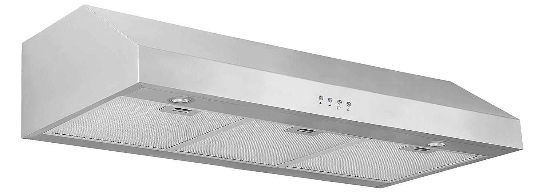 Ancona Advanta Pro III 450 CFM Under Cabinet Range Hood, 36-Inch AMS Inc AN-1214