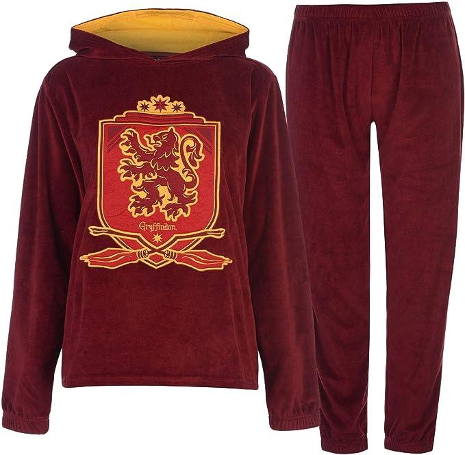 Harry Potter Conjunto de pijama con capucha (ropa de dormir arriba ...
