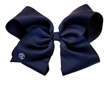 Amazon.com  JoJo Siwa Medium Hair Bow (Navy Blue)  Toys   Games 82e0c0de7d151