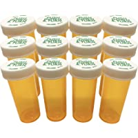 Premium Portable Empty Pill Bottles Medicine Containers   Keep Medication, Tablet Organized and Sorted   Ideal for…
