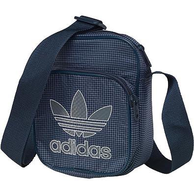 Vielzahl von Designs und Farben Schuhe für billige Premium-Auswahl Adidas Originale MENS TREFOIL Team Mini Tasche klein Dinge Co marineblau  aj7758