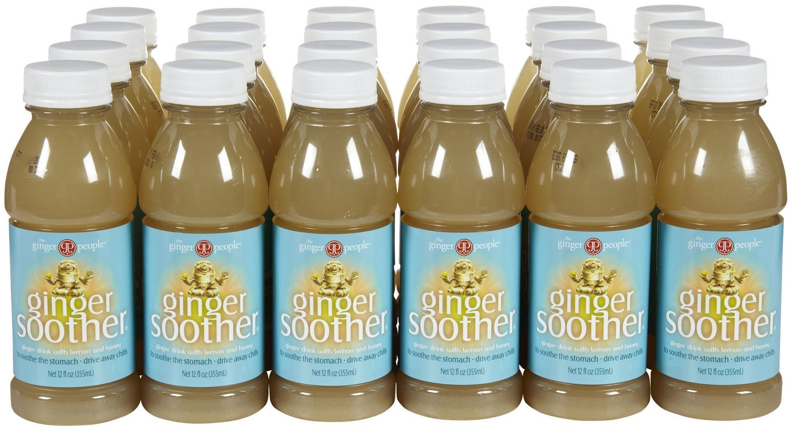 The Ginger People Ginger Soother - 12 oz - 24 pk by The Ginger People (Image #2)