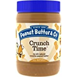 Peanut Butter & Co., Crunch Time, Crunchy Peanut Butter (Pack of 2)